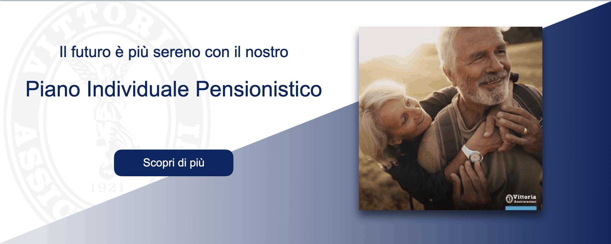 piano pensionistico individuale